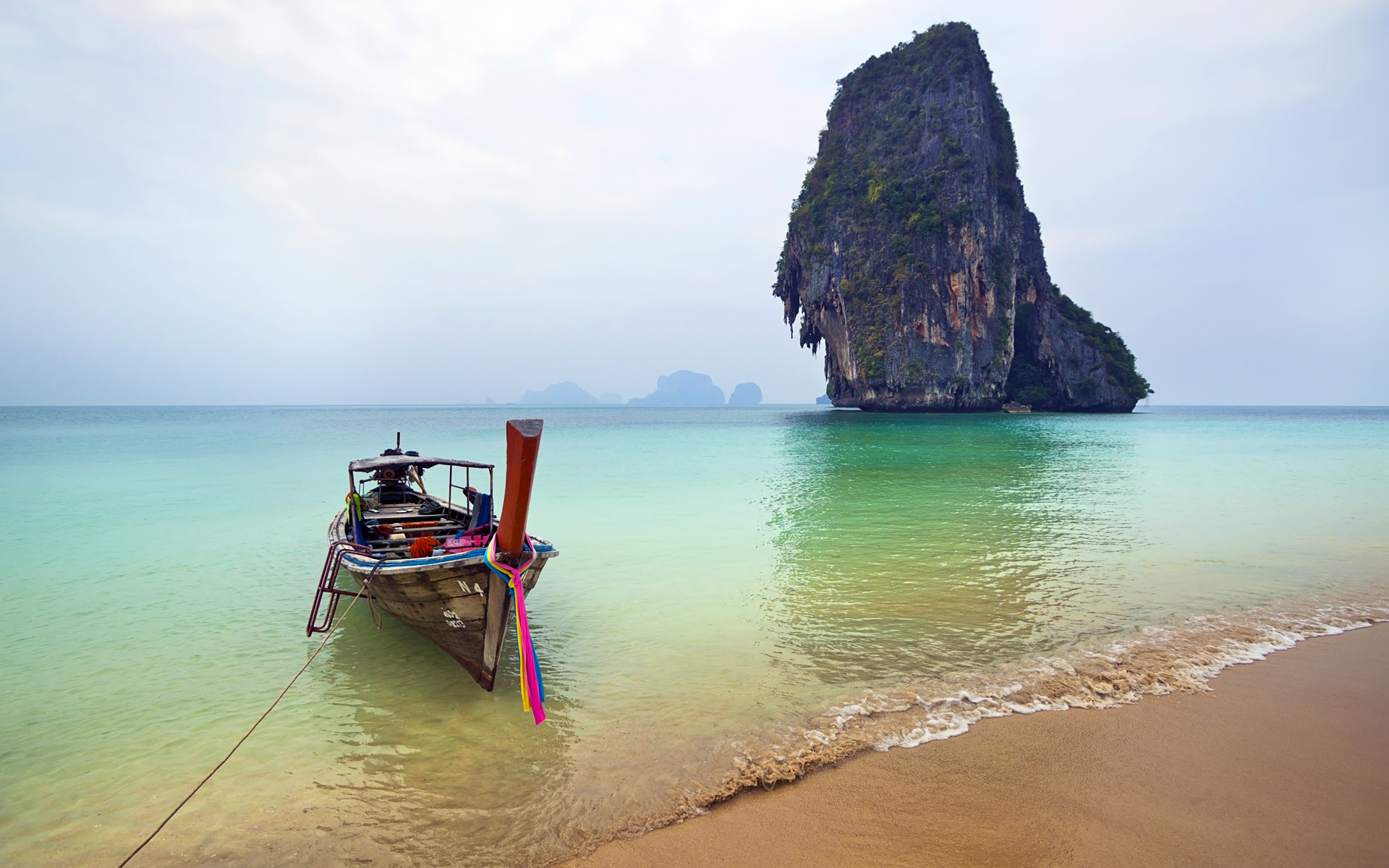 Railay Beach Thailand Wallpaper Wide Desktop s1j1wzj7   Yoanucom 1920x1200