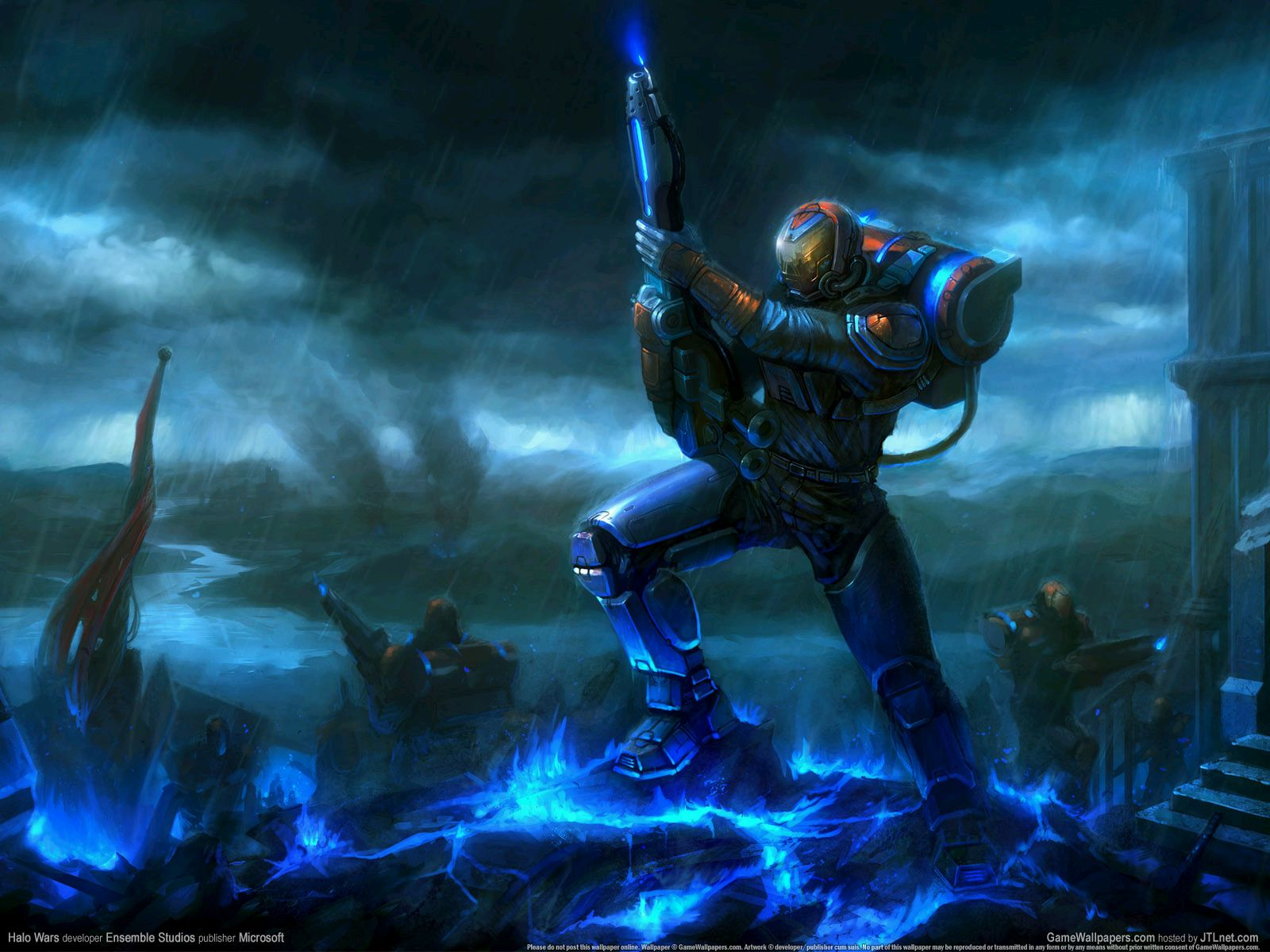 Gallery For gt Cool Halo Wars Wallpapers 1600x1200