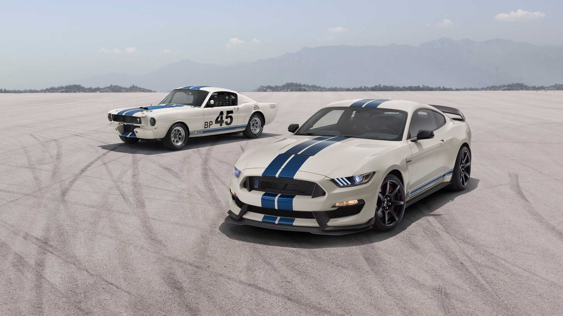 2020 Shelby GT350 And GT350R Get Striking Heritage Edition Pack 1920x1080