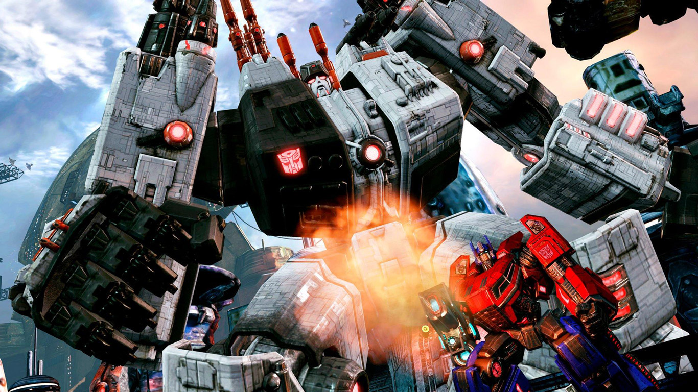 Transformers Fall of Cybertron Wallpaper in 1366x768 1366x768