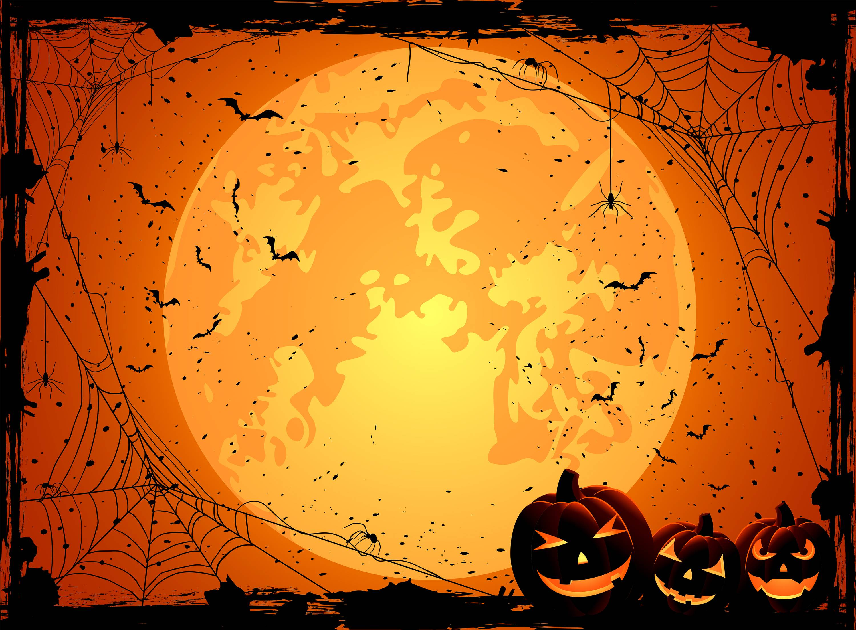Halloween Background HQ Wallpaper 14399   Baltana 3000x2209