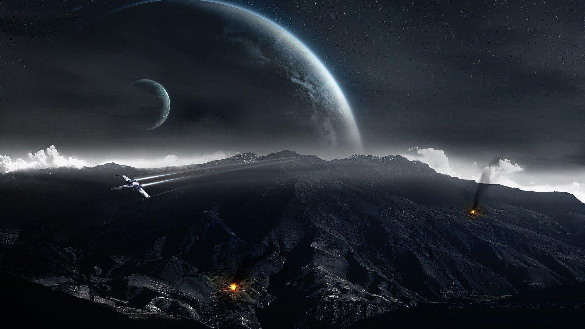 mystery sci fi futuristic film spaceship space wallpaper background 1920x1080
