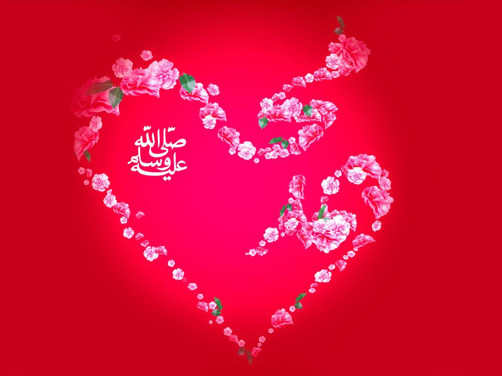 Muhammad PBUH name Wallpapers Vector Muhammad PBUH Name 1024x768