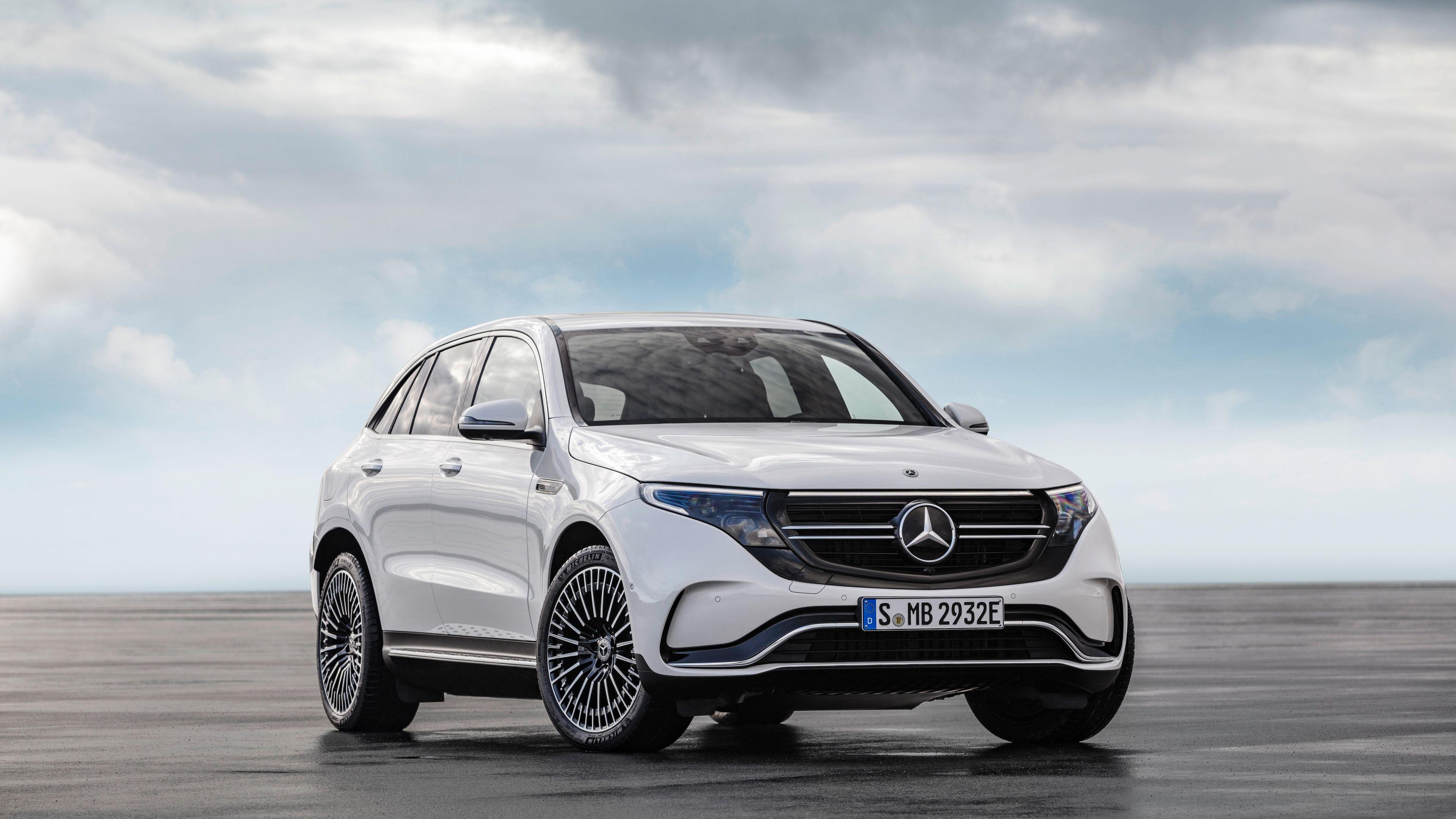 Mercedes Benz EQC 2020 4k mercedes wallpapers mercedes benz 3840x2160