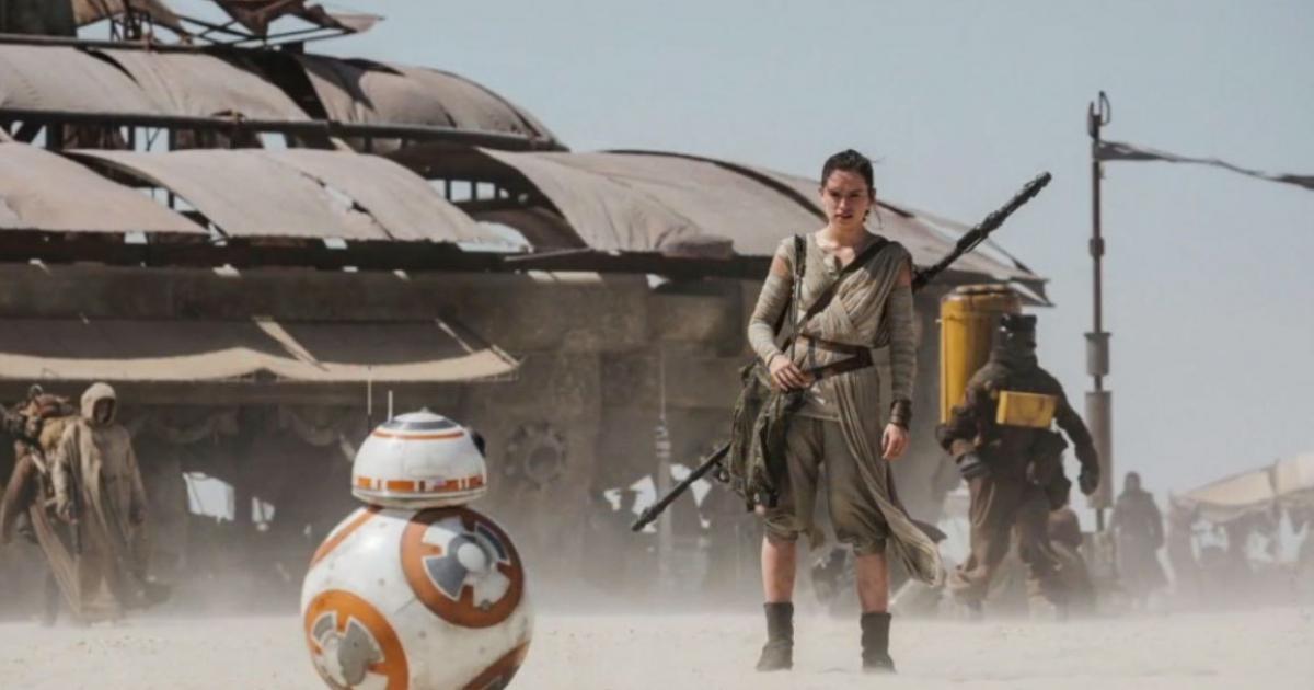 Star Wars 7 Rey et son BB8   disney melty 1200x630