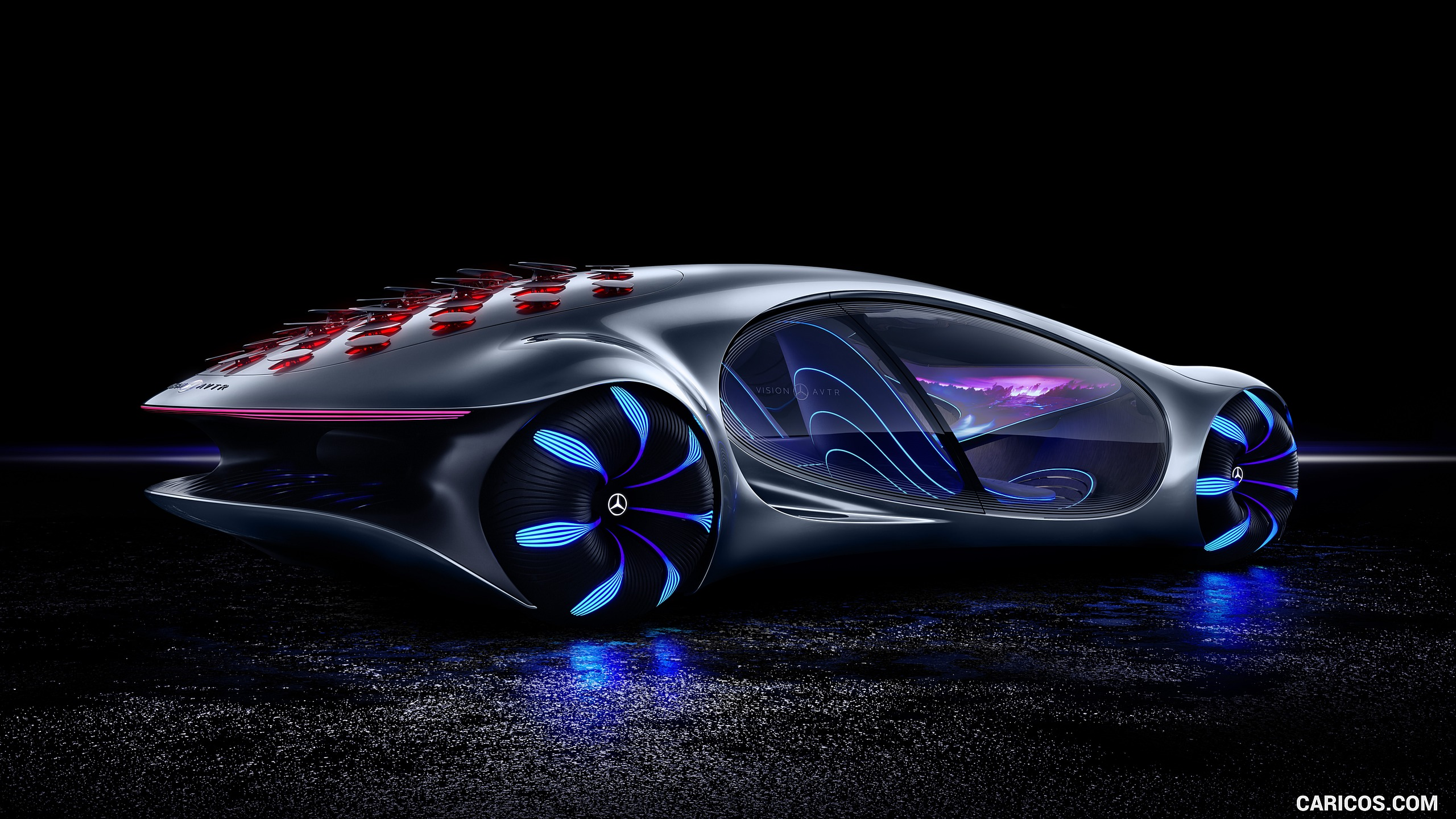 2020 Mercedes Benz VISION AVTR Concept   Rear Three Quarter HD 2560x1440