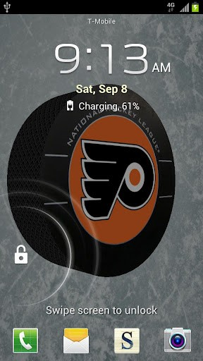 View bigger   Philadelphia Flyers Wallpaper for Android screenshot 288x512