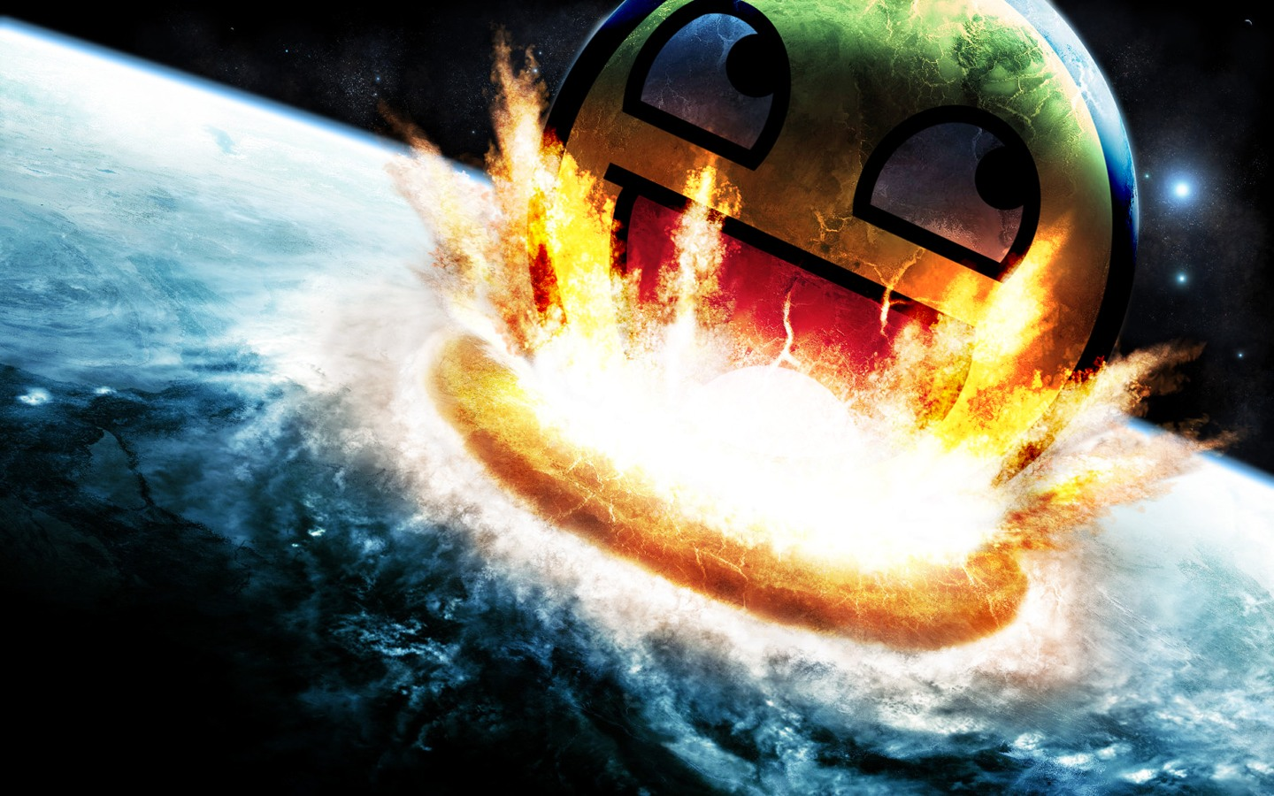 Download Smiley Epic Wallpaper 1440x900 Full HD Wallpapers 1440x900