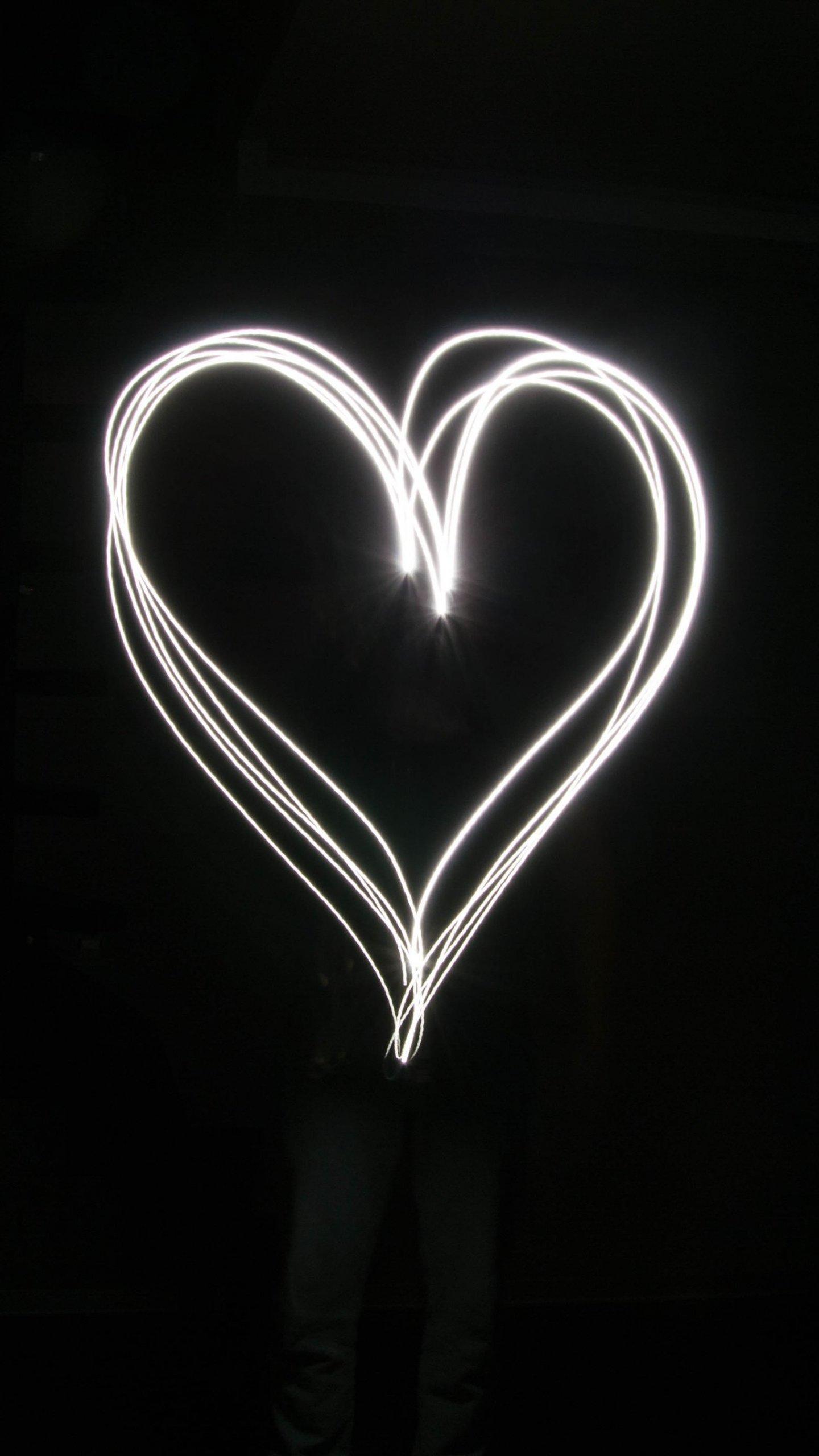 Light Heart Wallpaper   iPhone Android Desktop Backgrounds 1440x2560