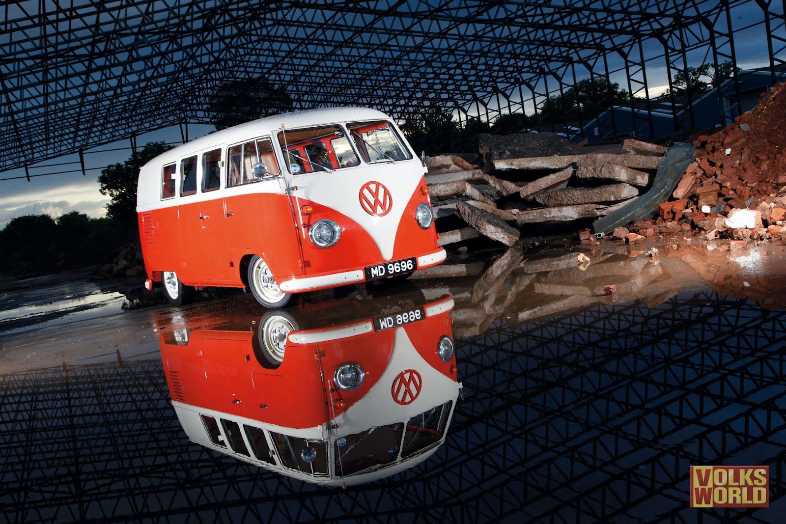 Wallpaper Volkswagen Samba Bus For 1920 X 1080 Hdtv 1080p Hd Wide 1600x1067