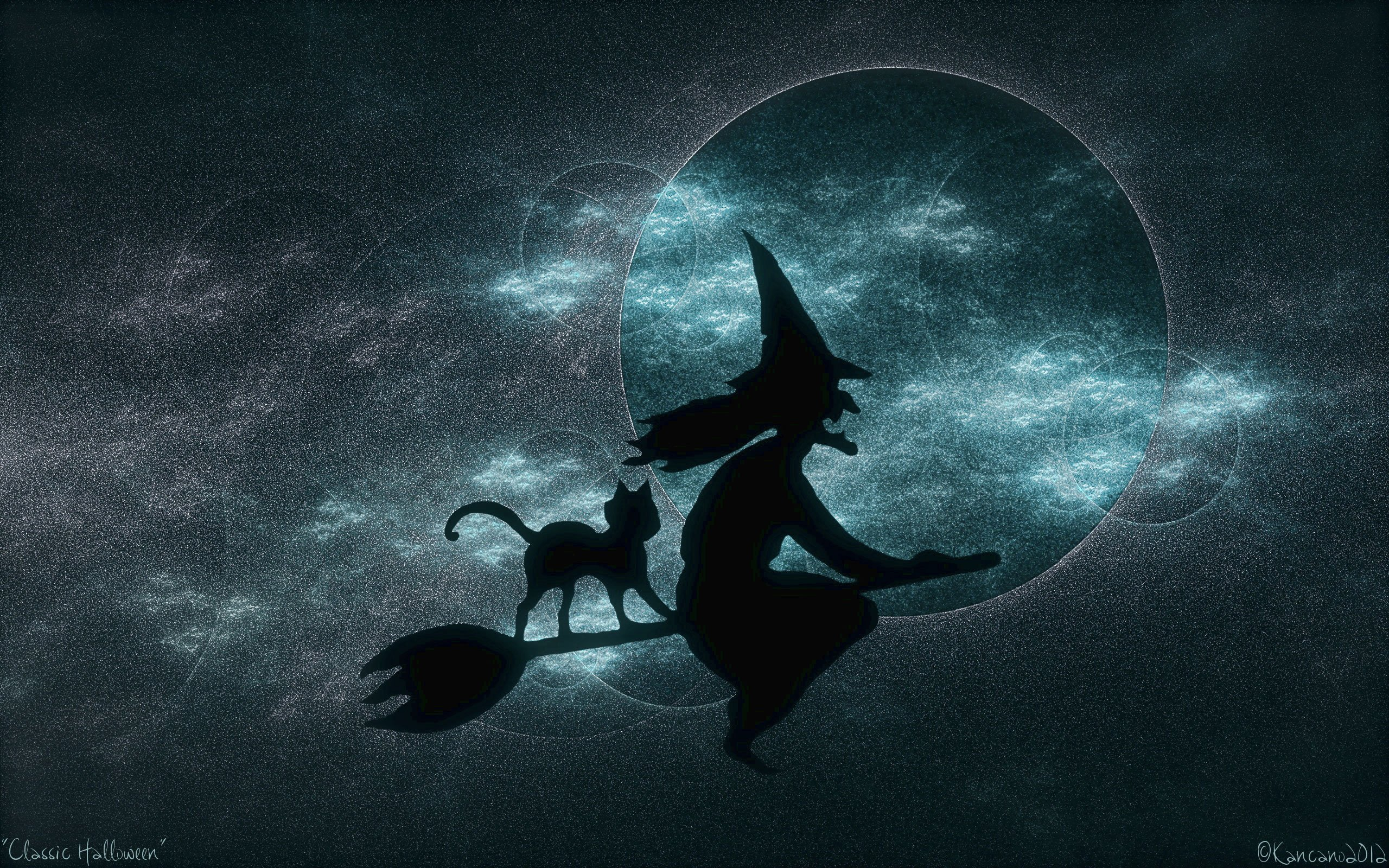 halloween witch Wallpaper 2560x1600