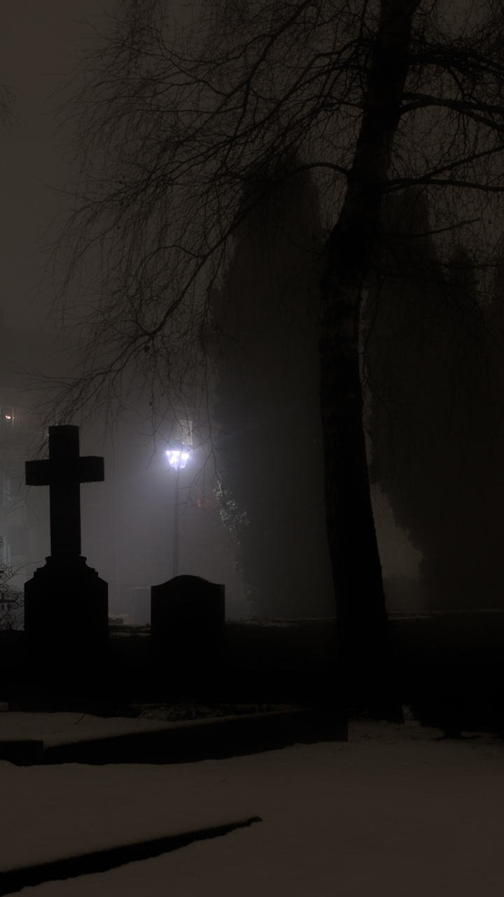 Dark Cemetery   Mobile Abyss 720x1280
