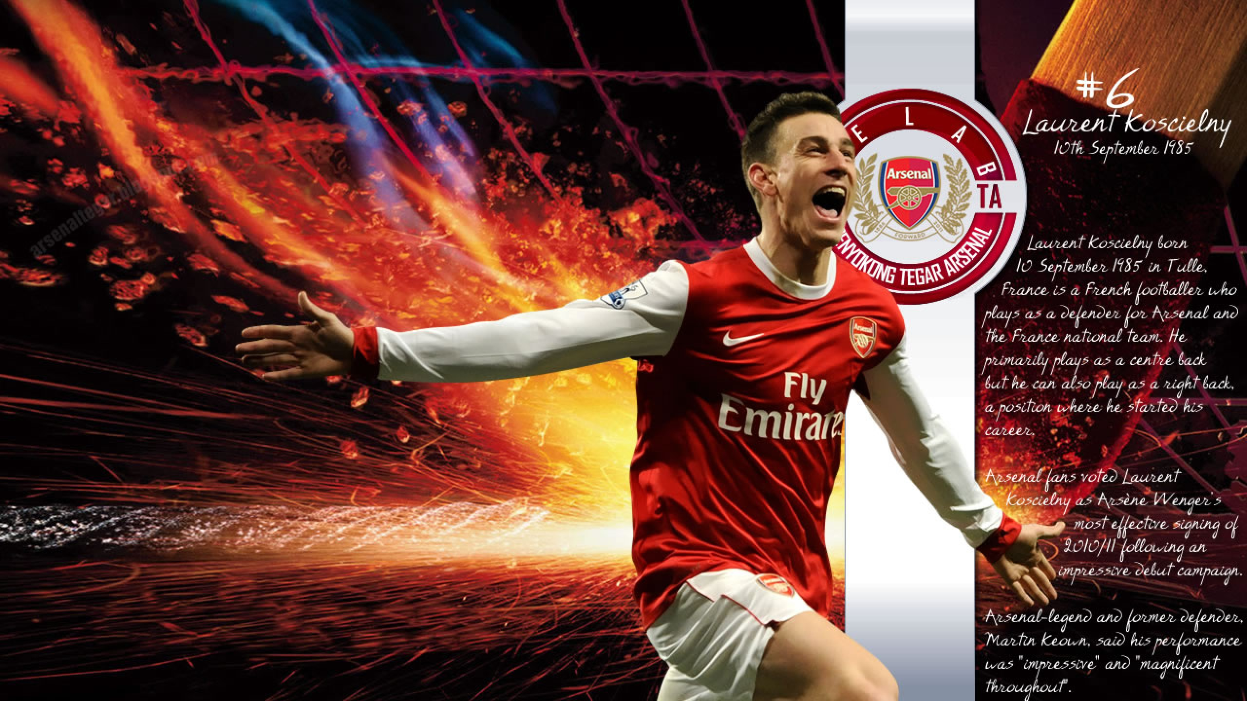 arsenal Arsenal Football HD wallpapers backgrounds images FHD 4k 2560x1440