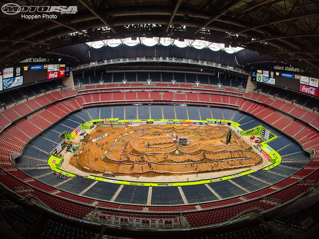 photo 2 of 20 reliant stadium hosted monster energy ama supercross in 1024x768