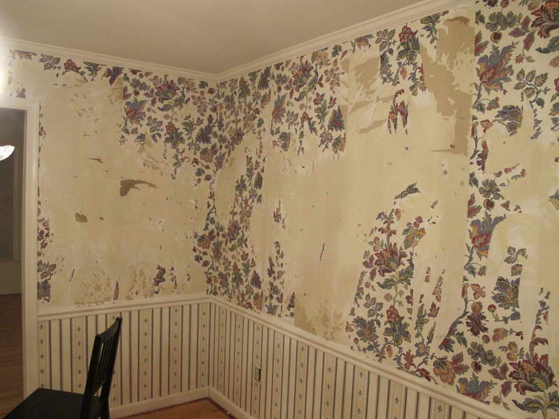 Remove Wallpaper With Wooden Chair 800x600