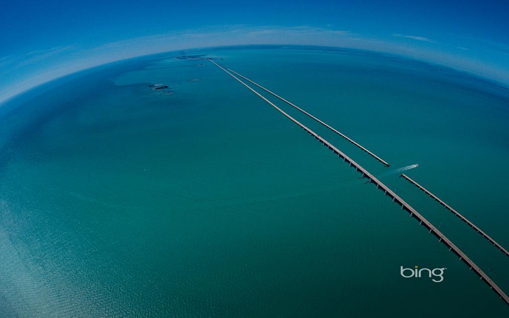 Download Seven Mile Bridge Bing Dynamic Desktop Background 1024x639