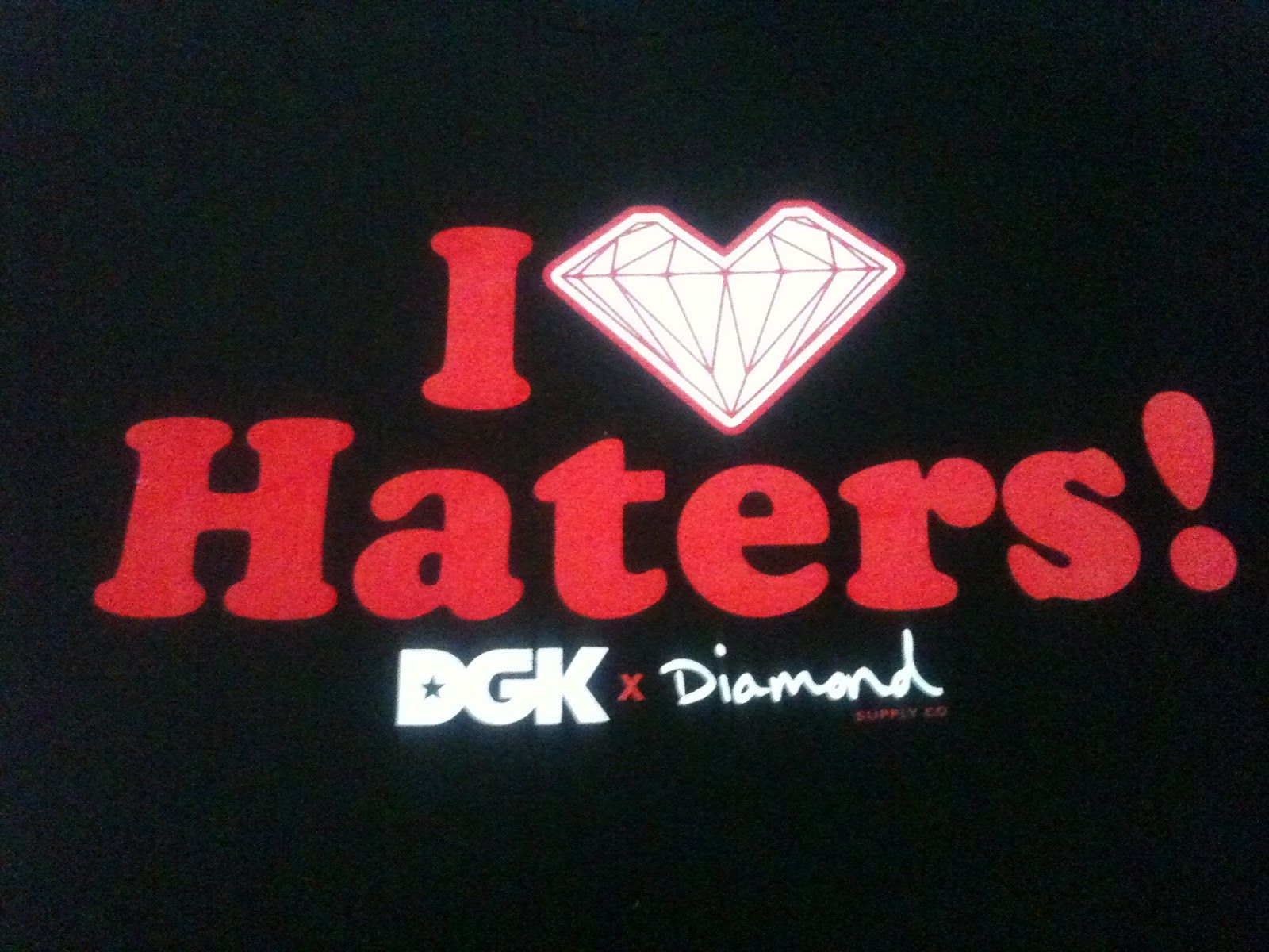 Wallpapers For Dgk Wallpaper I Love Haters 1600x1200