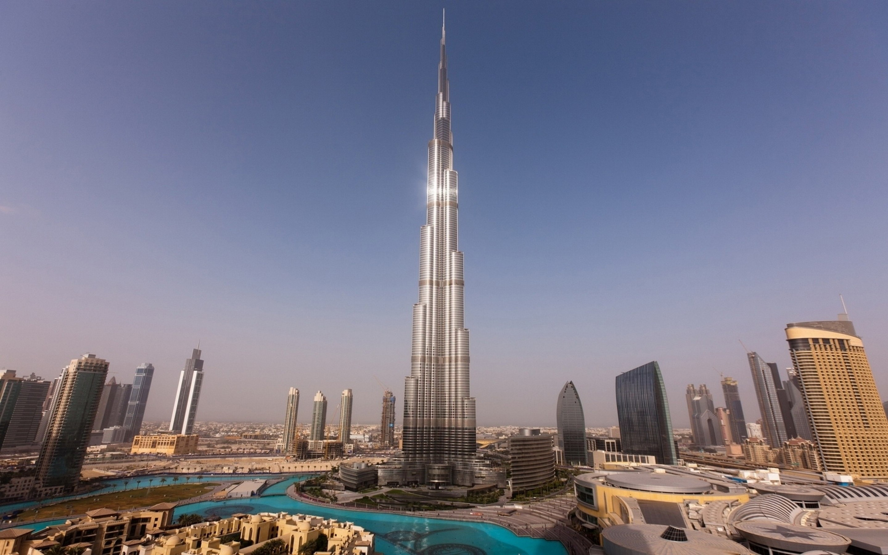 Burj Al Khalifa HD Wallpaper Travel Wallpapers 2880x1800