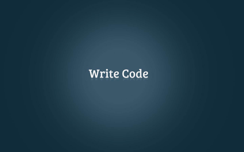 simple write code wallpaper 1440x900