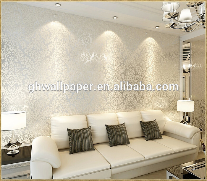 Wallpapers In Home Interiors: Foil Wallpaper For Home Interiors
