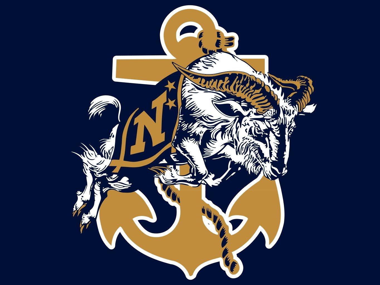 Navy Football Logo Wallpaper  Wallpapersafari