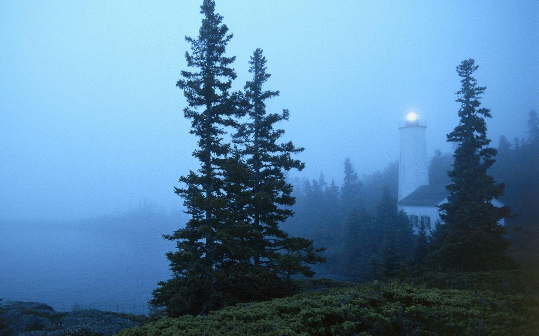 Rock Harbor Lighthouse Isle Royale National Park Michigan Travel 1440x900