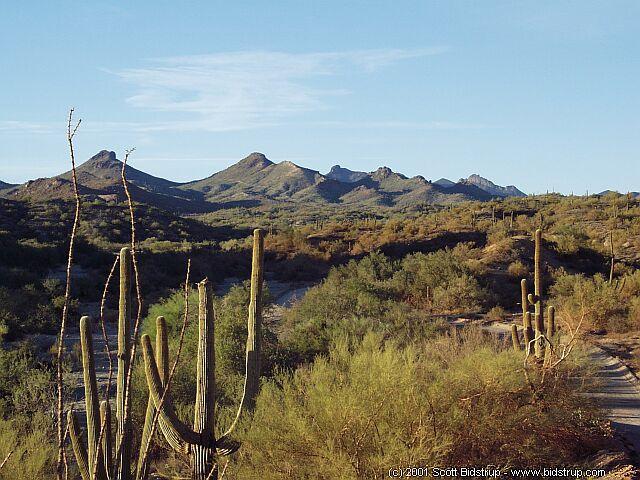 arizona desert wallpaper 640x480
