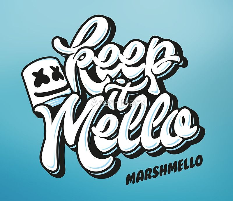5cd66fb603d Keep it Mello by Ares Marv Chase in 2019 Music drawings 800x688
