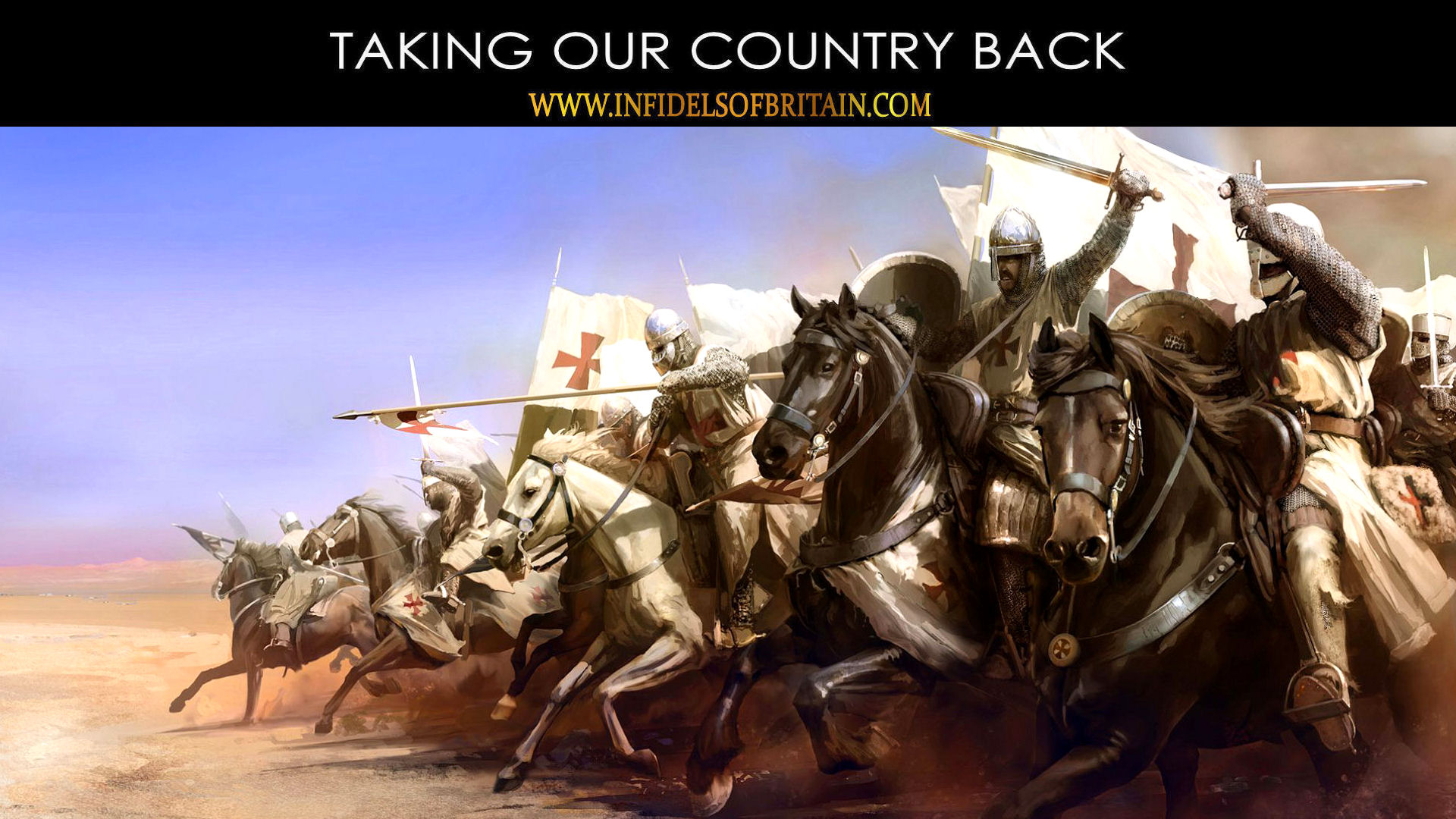 INFIDELS OF BRITAIN   TAKING OUR COUNTRY BACK 1920x1080