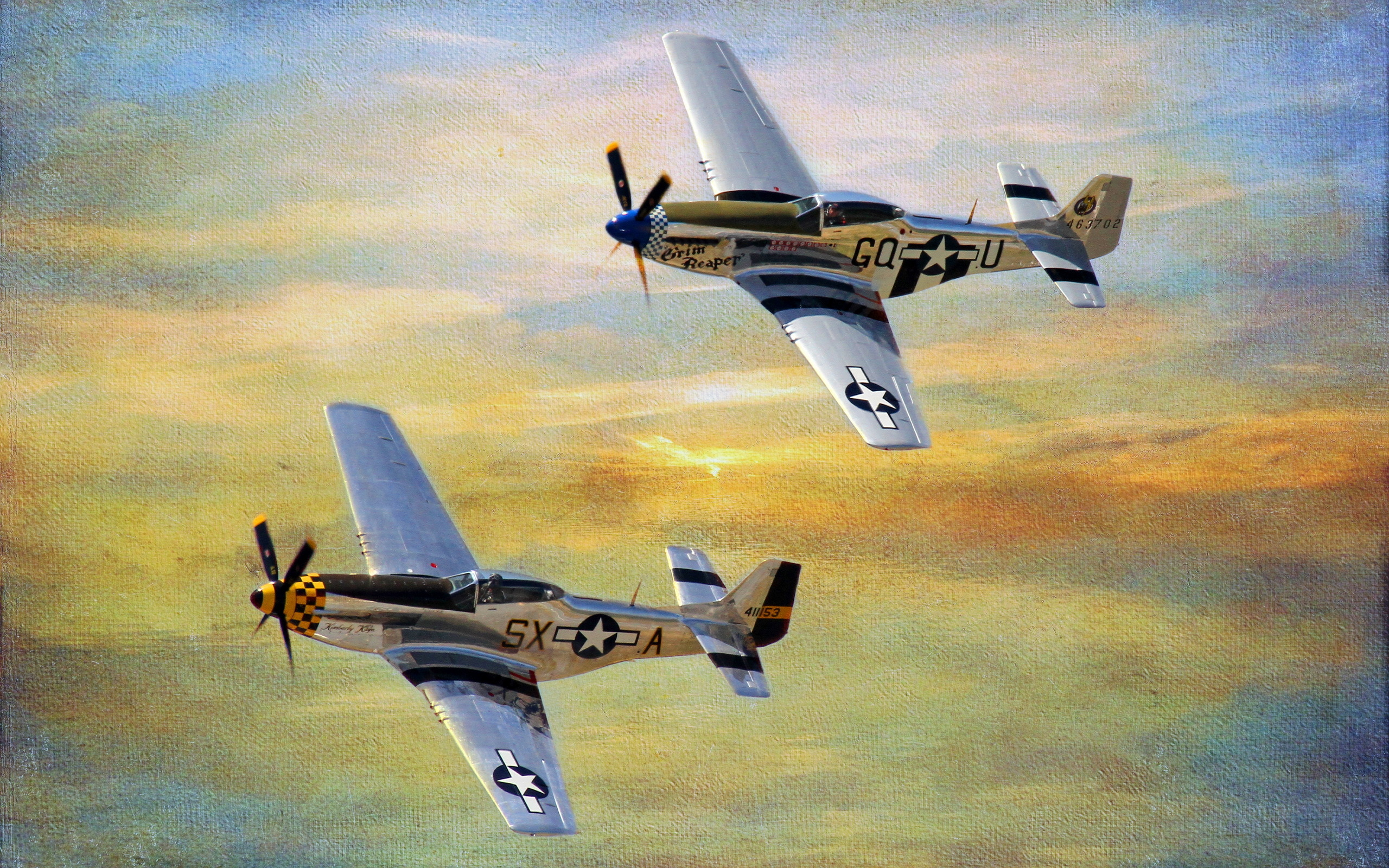 P51   Mustang Twins wallpaper   ForWallpapercom 2560x1600