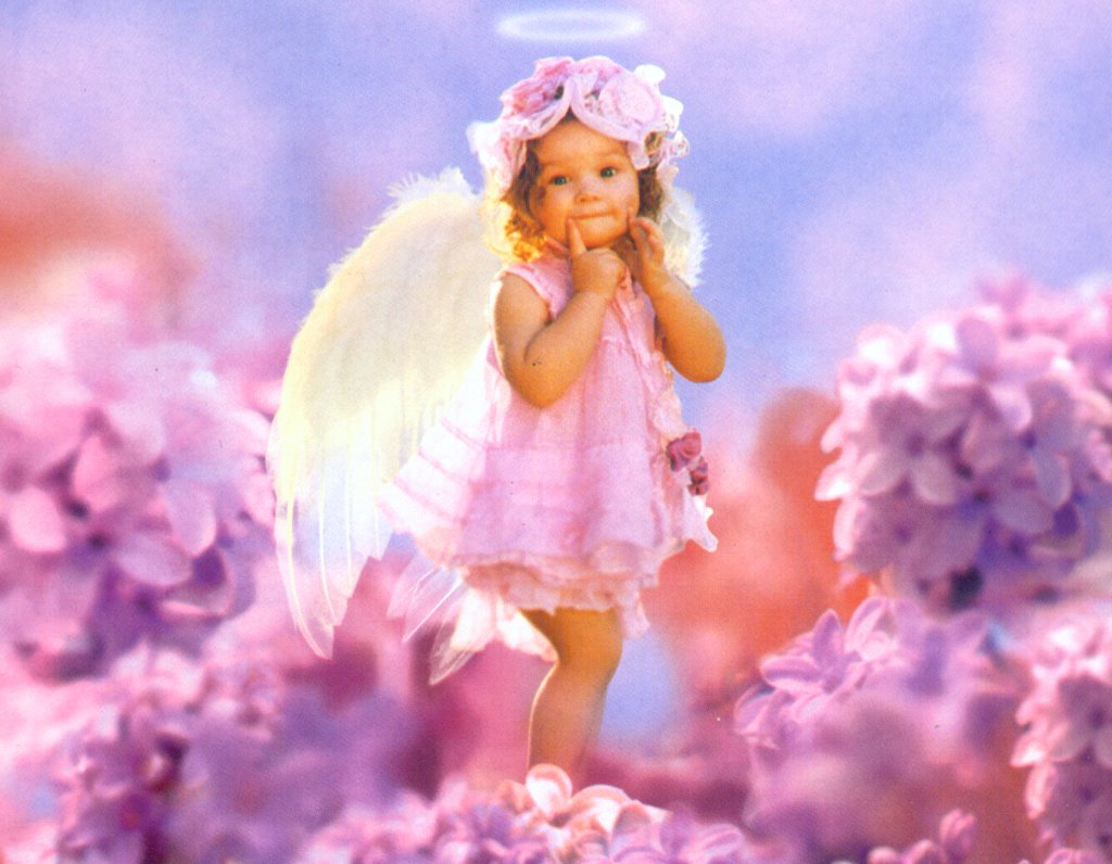 Angel Babies Wallpapers 1024x796
