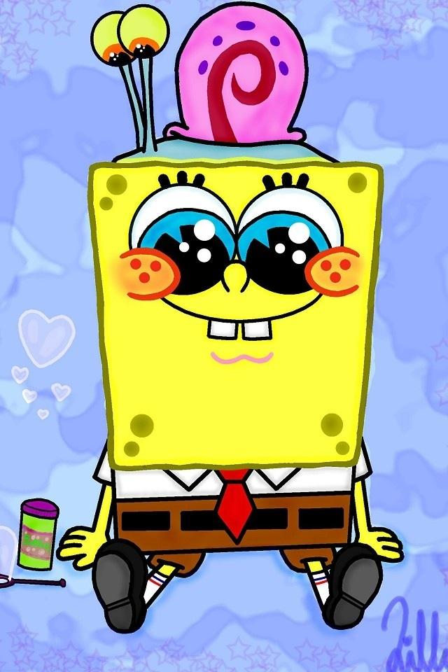 SpongeBob Live Wallpaper For Android Cute 1 640x960