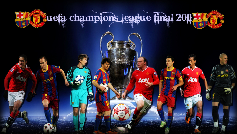 Wallpaper final Uefa champions league 2011 1429x810