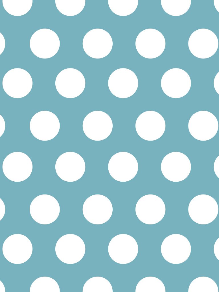 Blue polka dot wallpaper wallpapersafari for Polka dot wallpaper