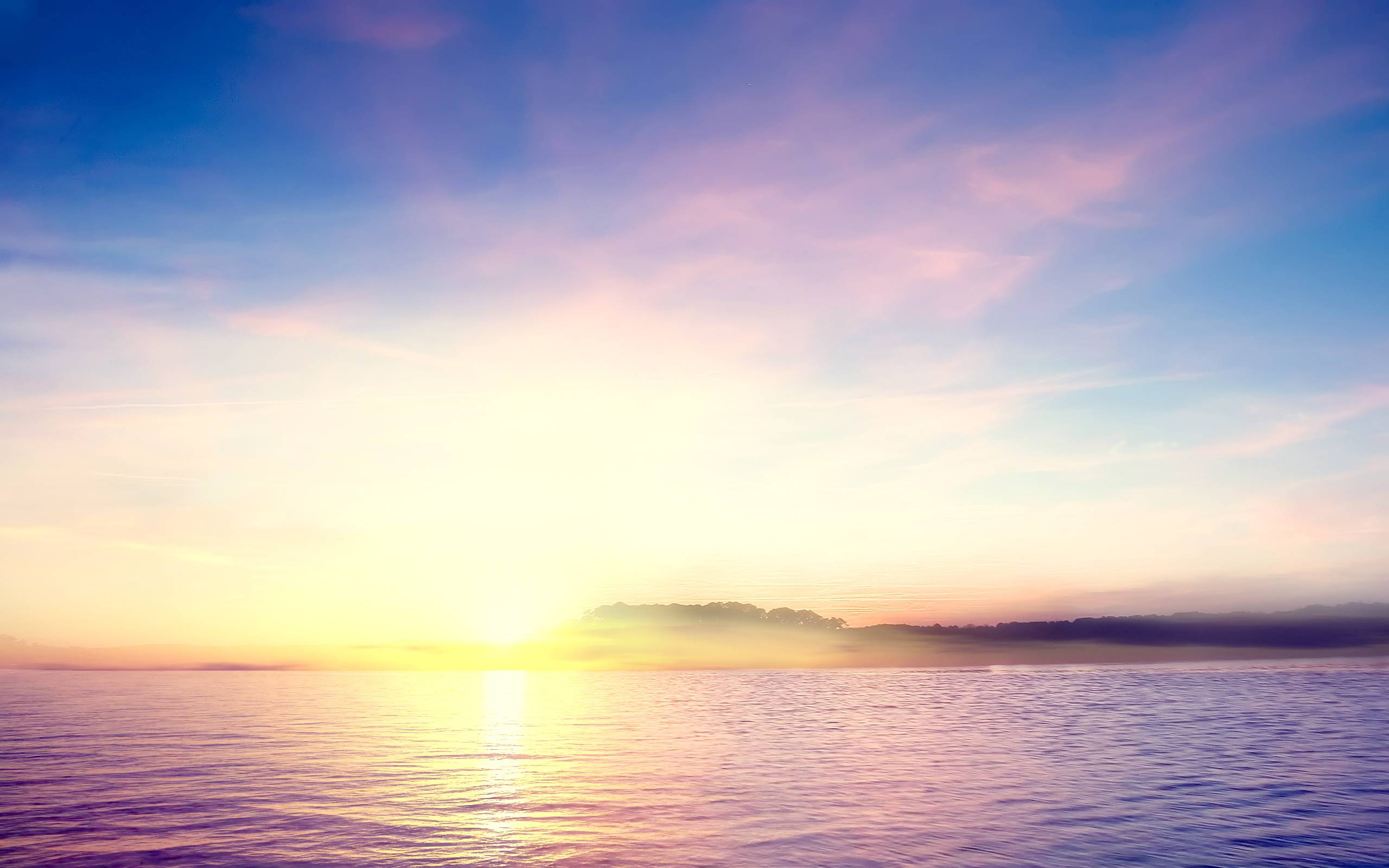 Tropical Island Sunset Wallpapers 2560x1600