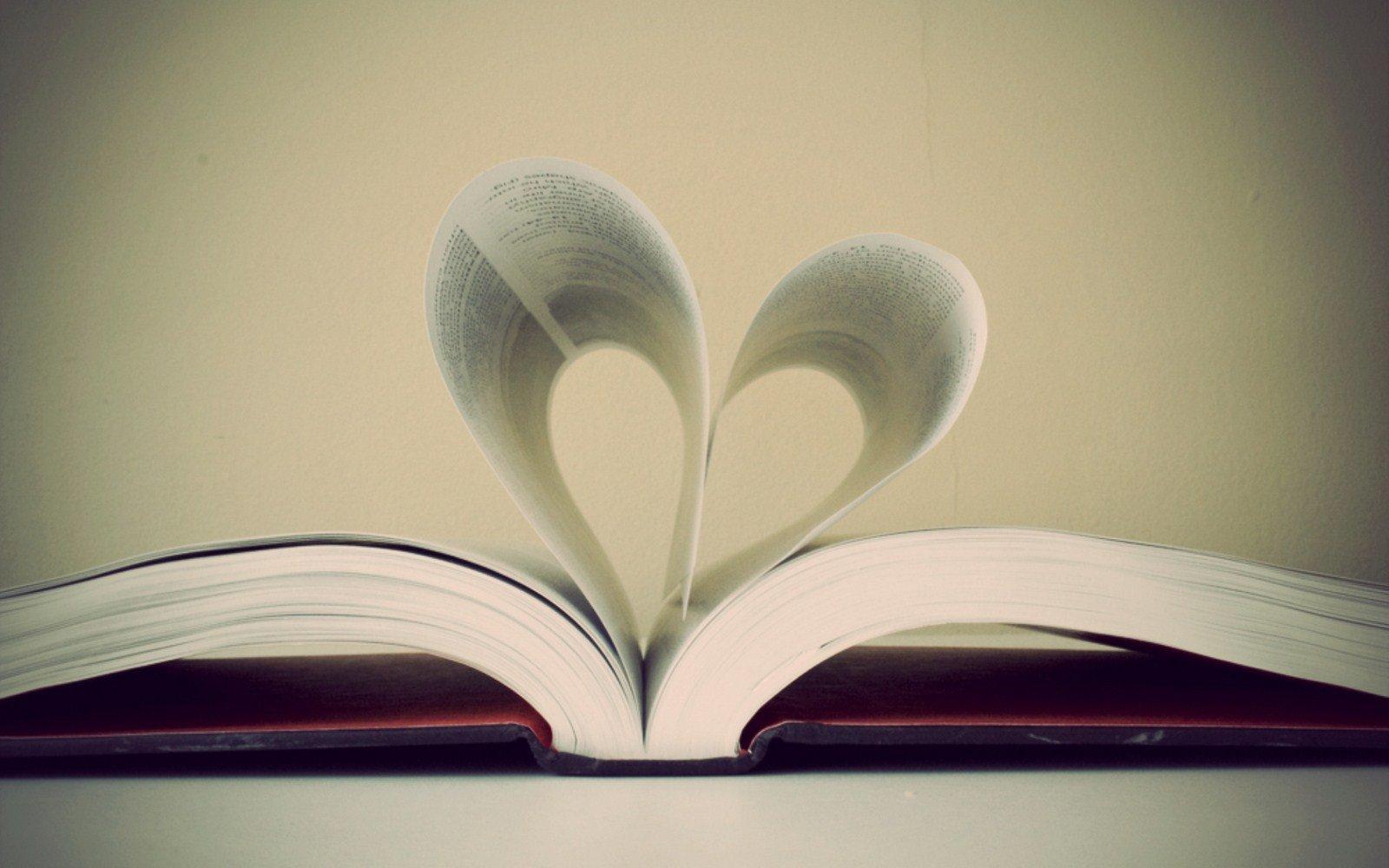 Book Sheet Page Heart Photo HD Love Wallpaper Love Wallpapers 1600x1000