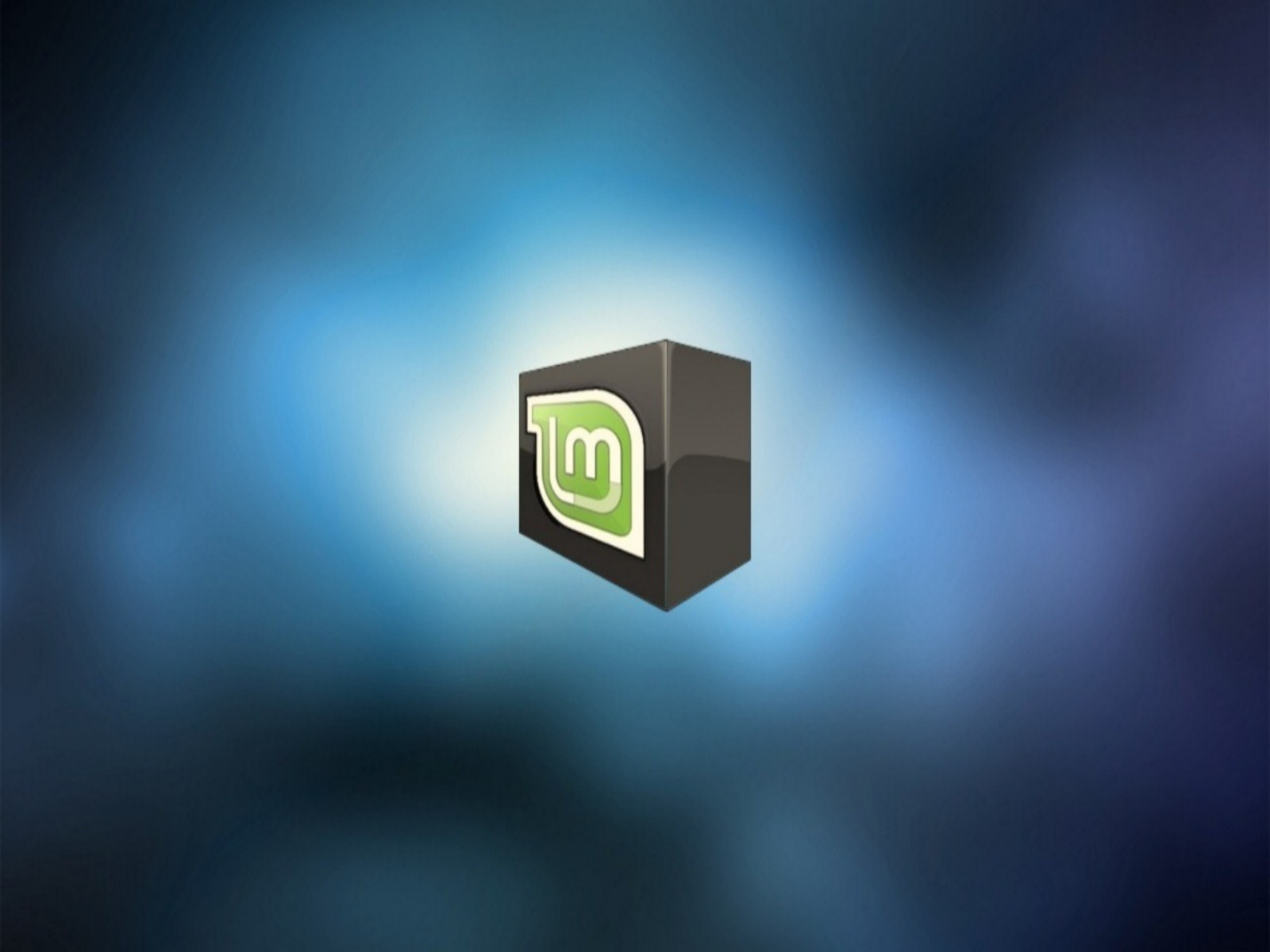 Mint Linux Background Linux Mint Box Wide Wallpapers   1600x1200 1600x1200