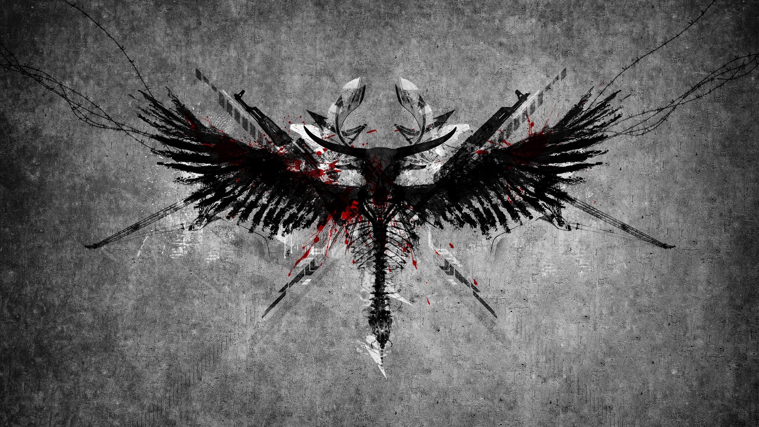 67 Angel Wings Wallpapers on WallpaperPlay 2560x1440
