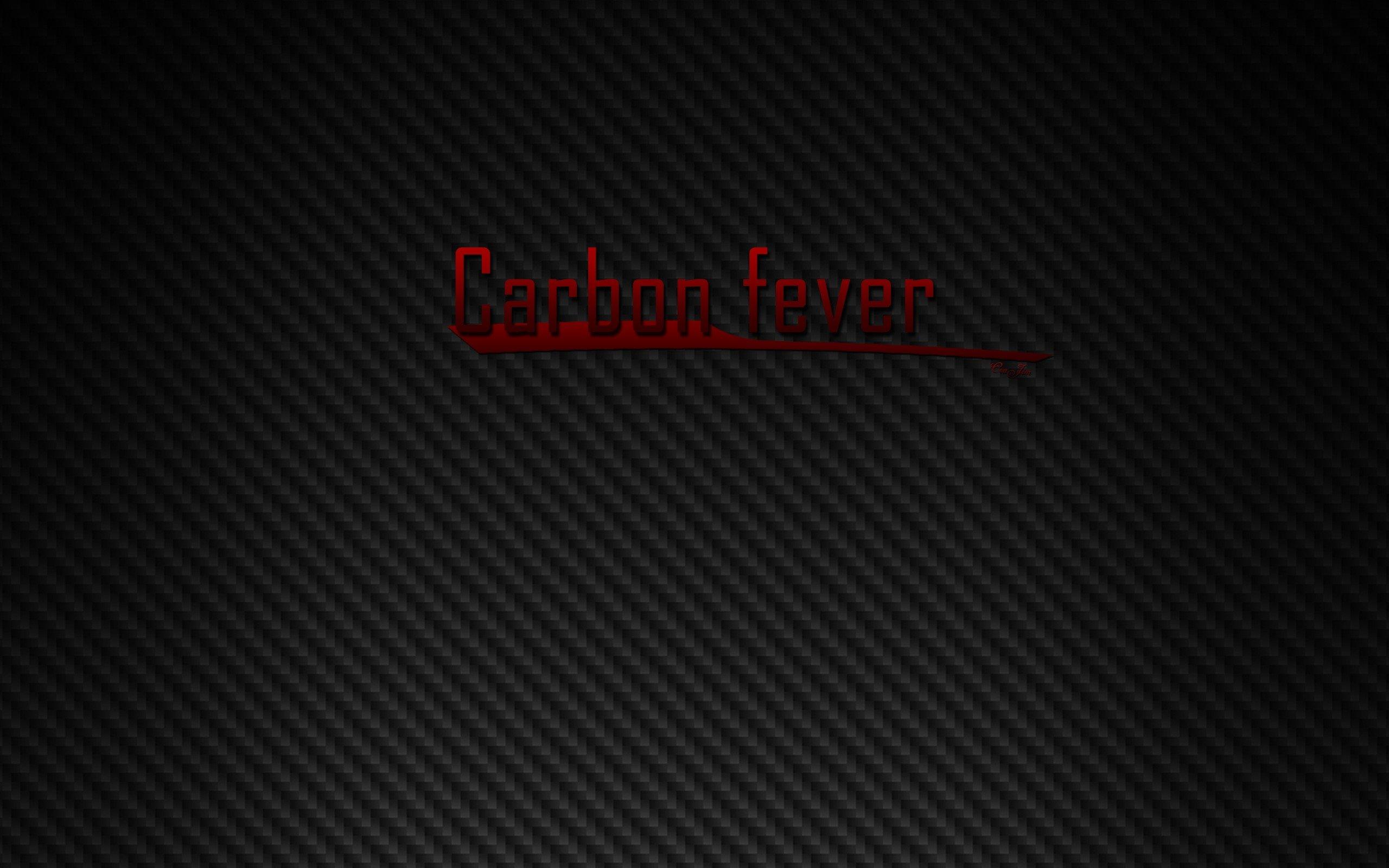 Black carbon fiber CraJim fibers wallpaper 2560x1600 2560x1600