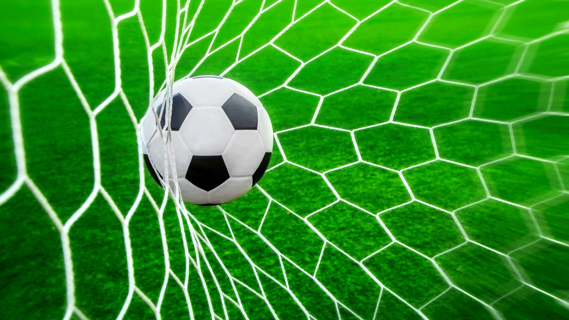Ball and net for football wallpapers and images   wallpapers pictures 1920x1080