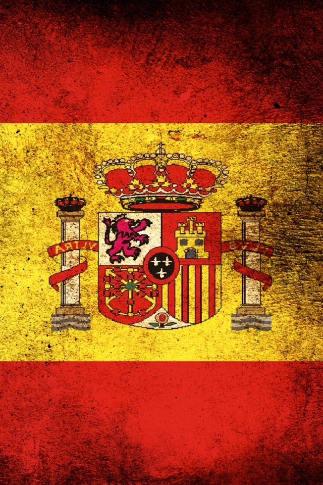 Free Download Flag Of Spain Iphone Hd Wallpaper Iphone Hd