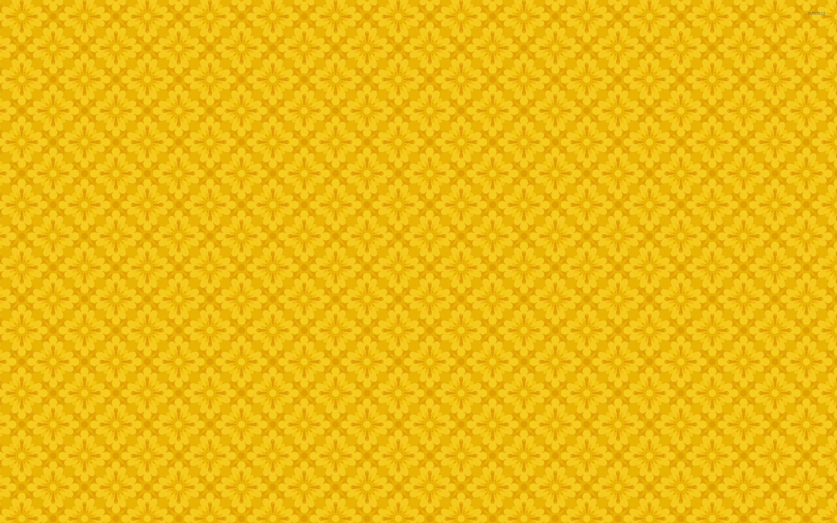 44 Yellow Pattern Wallpaper On Wallpapersafari