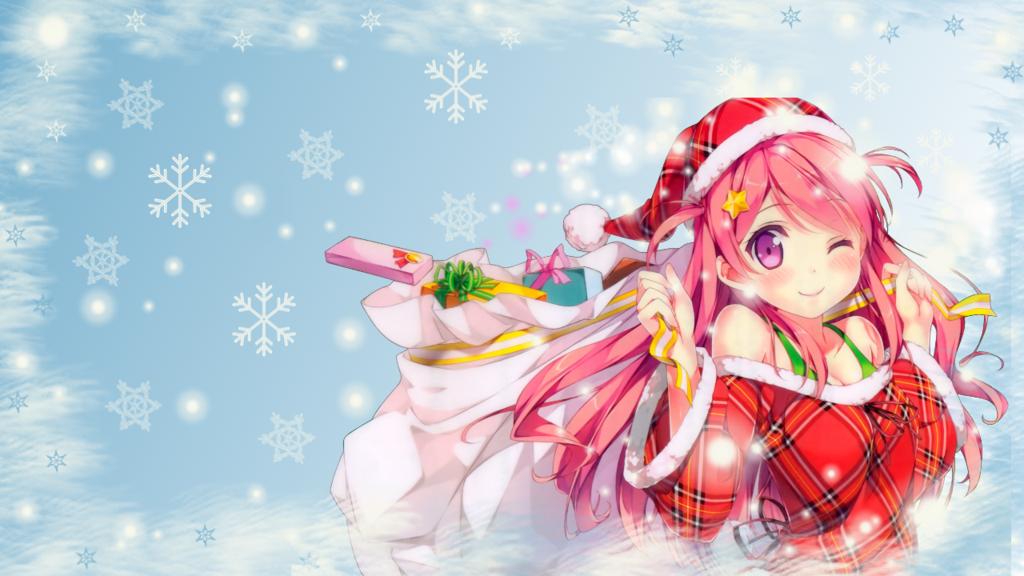 [58+] Anime Christmas Wallpapers on WallpaperSafari
