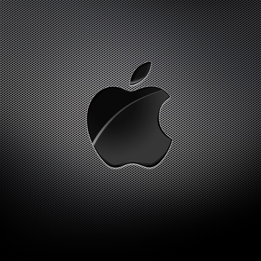 Apple Black Background iPad Wallpaper Download iPhone Wallpapers 1024x1024