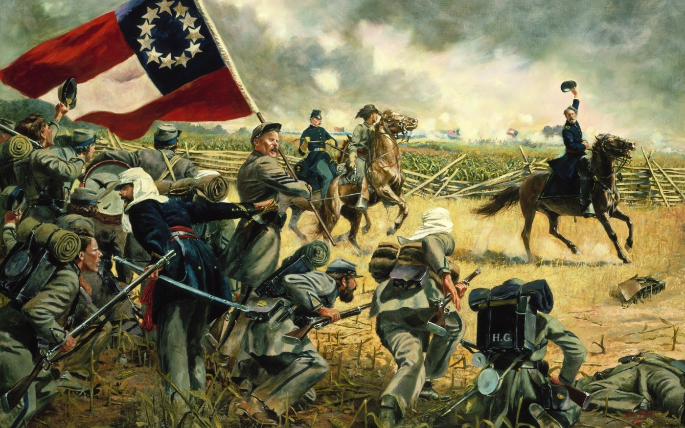 Union Civil War Flag Wallpaper   Viewing Gallery 1400x875
