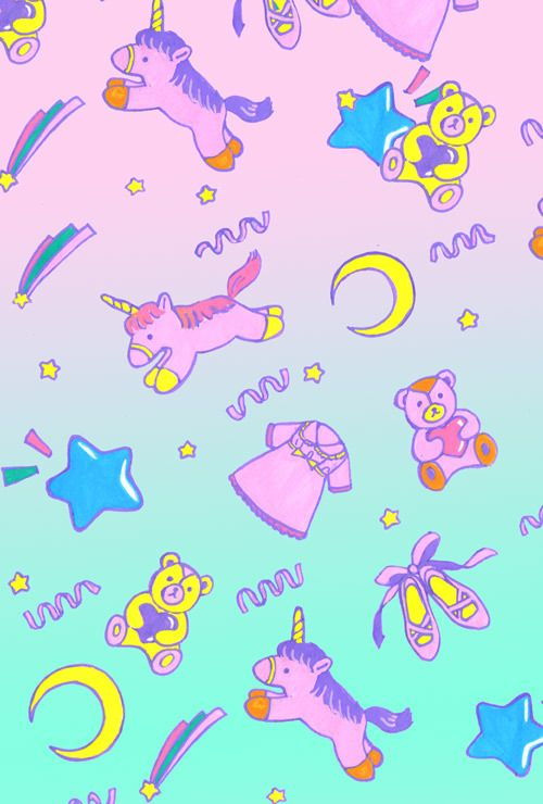 Unicorn Tumblr Background Cute unicorn background 500x740