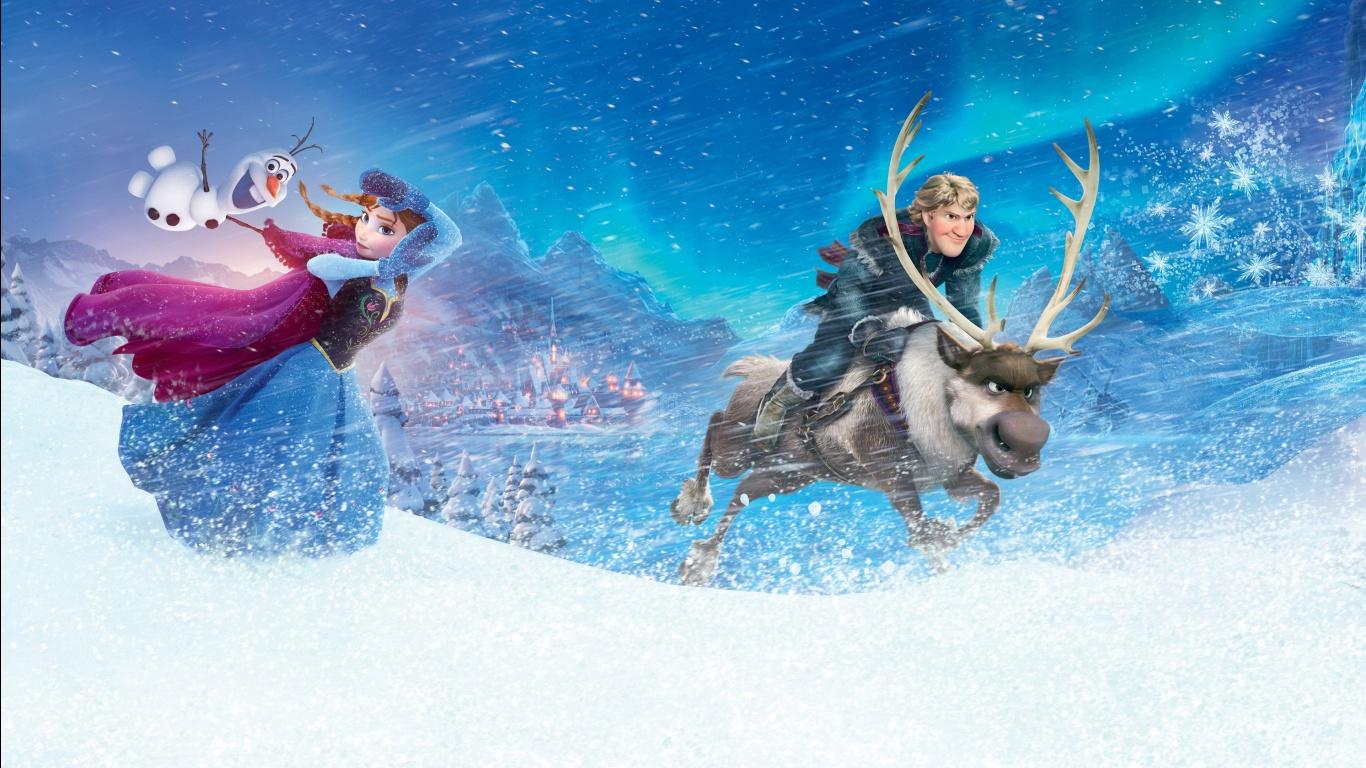 Frozen 2015 Movie HD Wallpaper Stylish HD Wallpapers   Stylish HD 1366x768