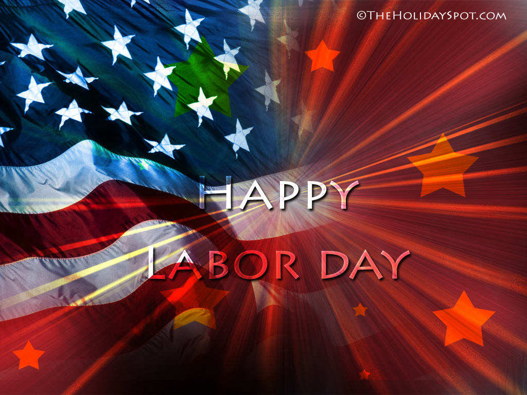 1024x768 Happy Labor day wallpaper   1024x768 Labor Day illustration 1024x768