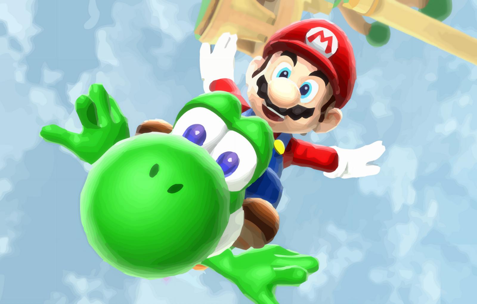 Super Mario HD Wallpaper   Wallpapers 1600x1022