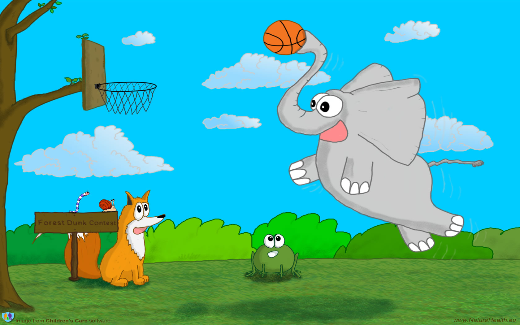 Basketball Kids Wallpaper: [75+] Free Wallpapers For Kids On WallpaperSafari